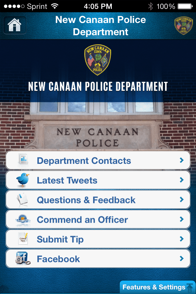 New Canaan Police | MyPD Law Enforcement App
